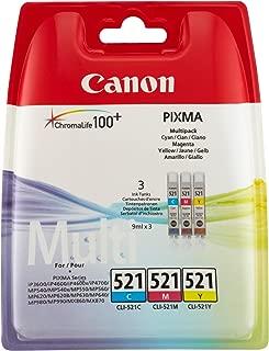 Canon CLI-521 C/M/Y