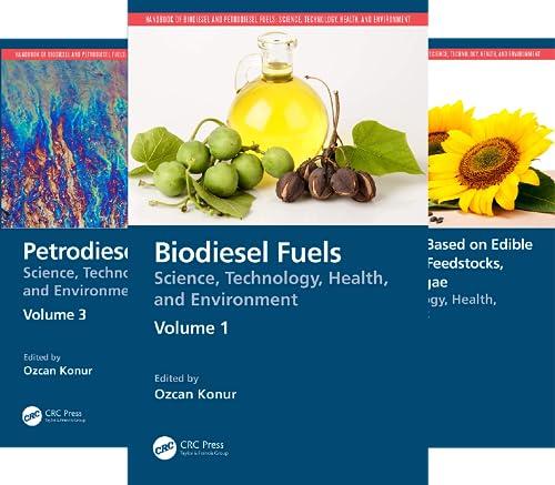 Handbook of Biodiesel and Petrodiesel Fuels (3 Book Series)