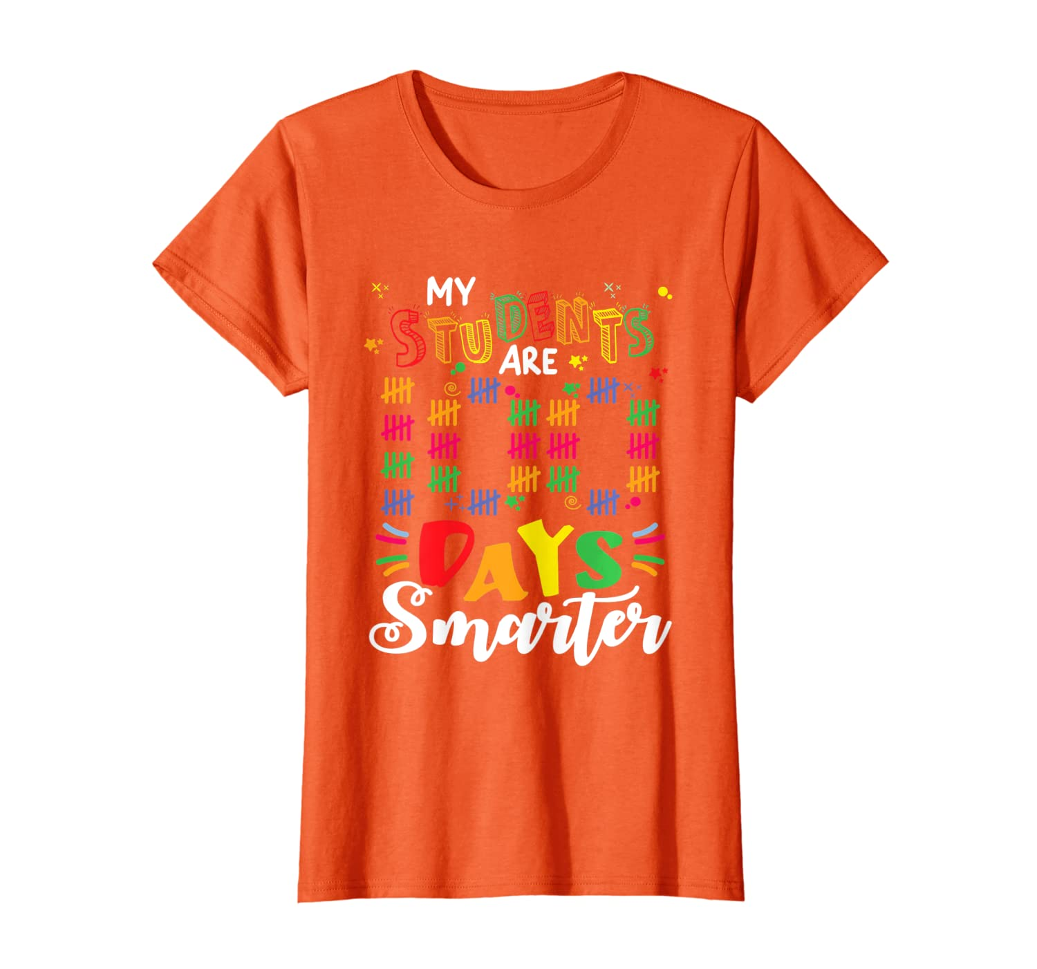 100 Days Smarter 100Th Day Of School Shirt For Teachers T-Shirt Unisex Tshirt