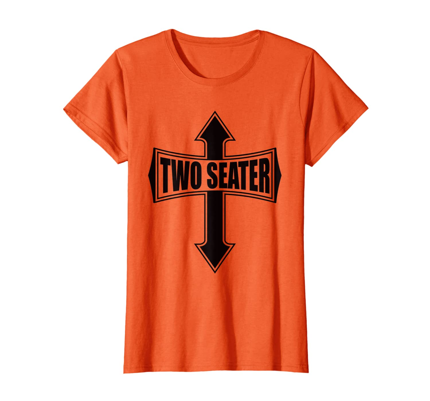 TWO SEATER T-SHIRT FUNNY PARTY GAG GIFT TSHIRT-Loveshirt