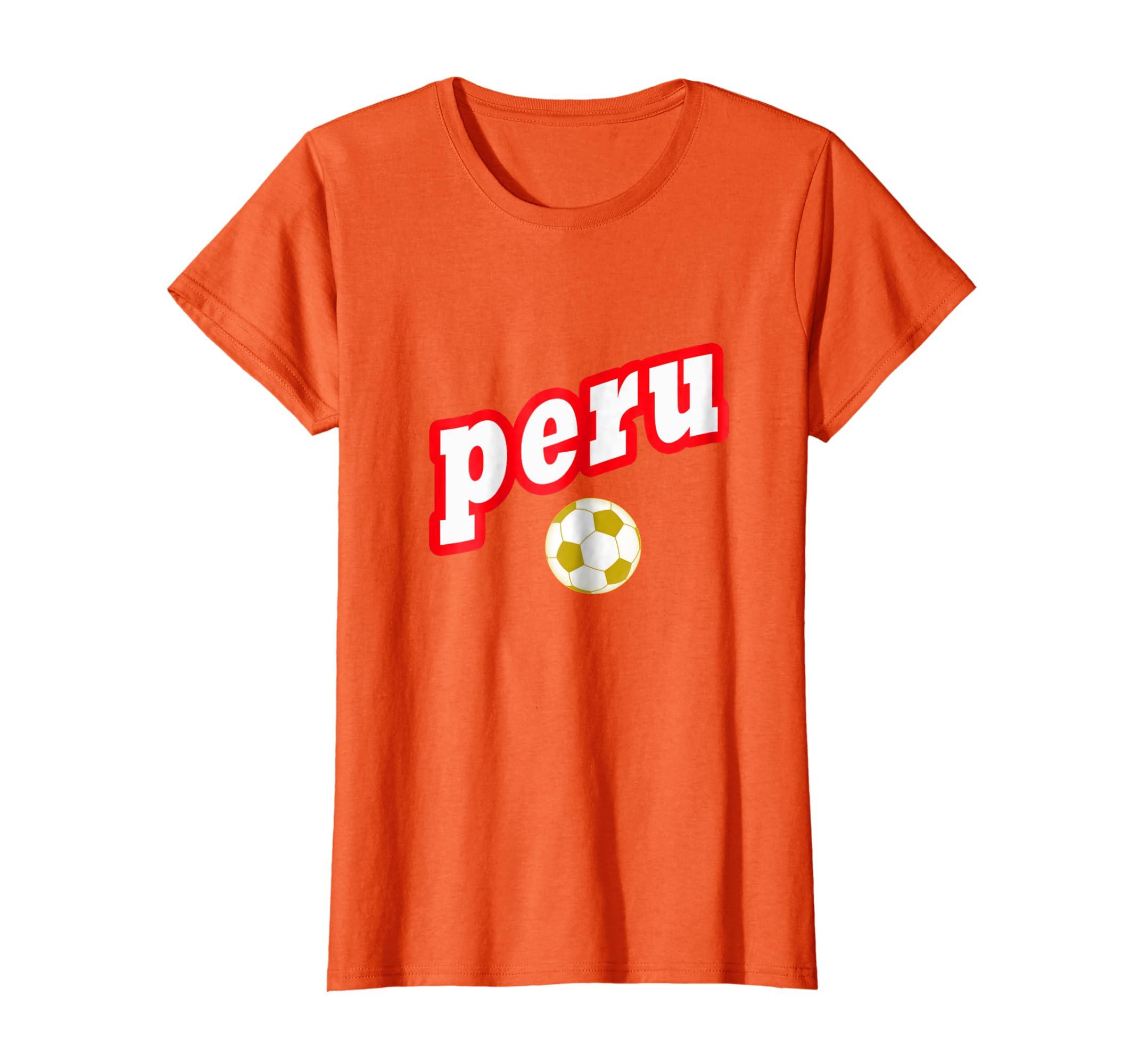 Amazon.com  Womens Peru Jersey Soccer Peruvian Football Team Shirt Russia  2018  Clothing 737add8655