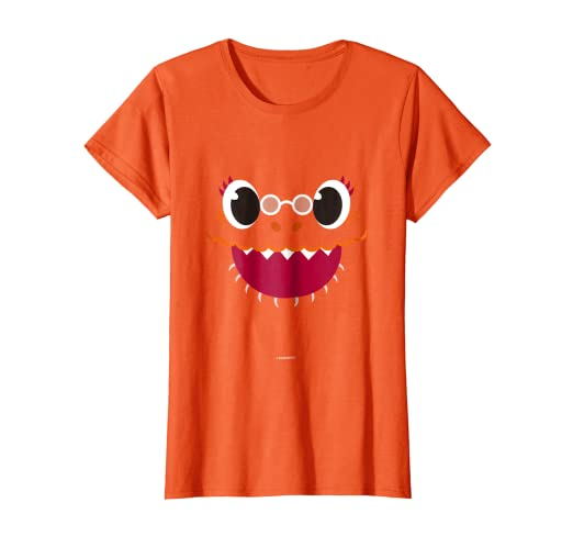f1d9d29cb Image Unavailable. Image not available for. Color: Womens Pinkfong Baby  Shark Grandma Shark Official T-Shirt