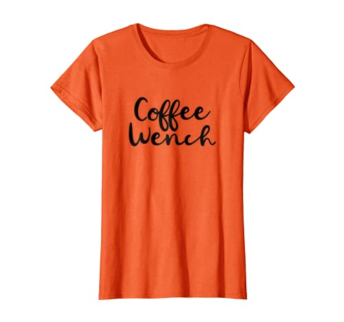 85e5ff976d Amazon.com: Coffee Wench Funny Barista Cold Brew Halloween Shirt: Clothing