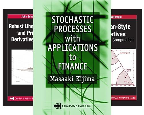 Chapman and Hall/CRC Financial Mathematics (50 Book Series)