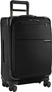Briggs & Riley @ Baseline Luggage Baseline Domestic Carry-On Spinner Bag, Black, Medium