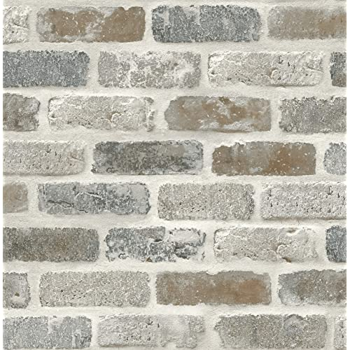 Faux Brick Wallpaper: Amazon com