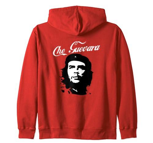 "Che Guevara ""Enjoy Capitalism"" Sarcastic Political  Zip Hoodie"