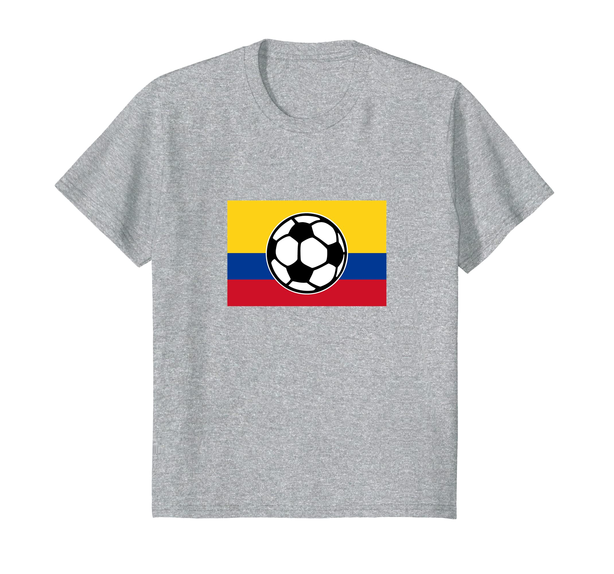 Amazon.com: Colombia Soccer T-Shirt for Colombian Football Fans: Clothing