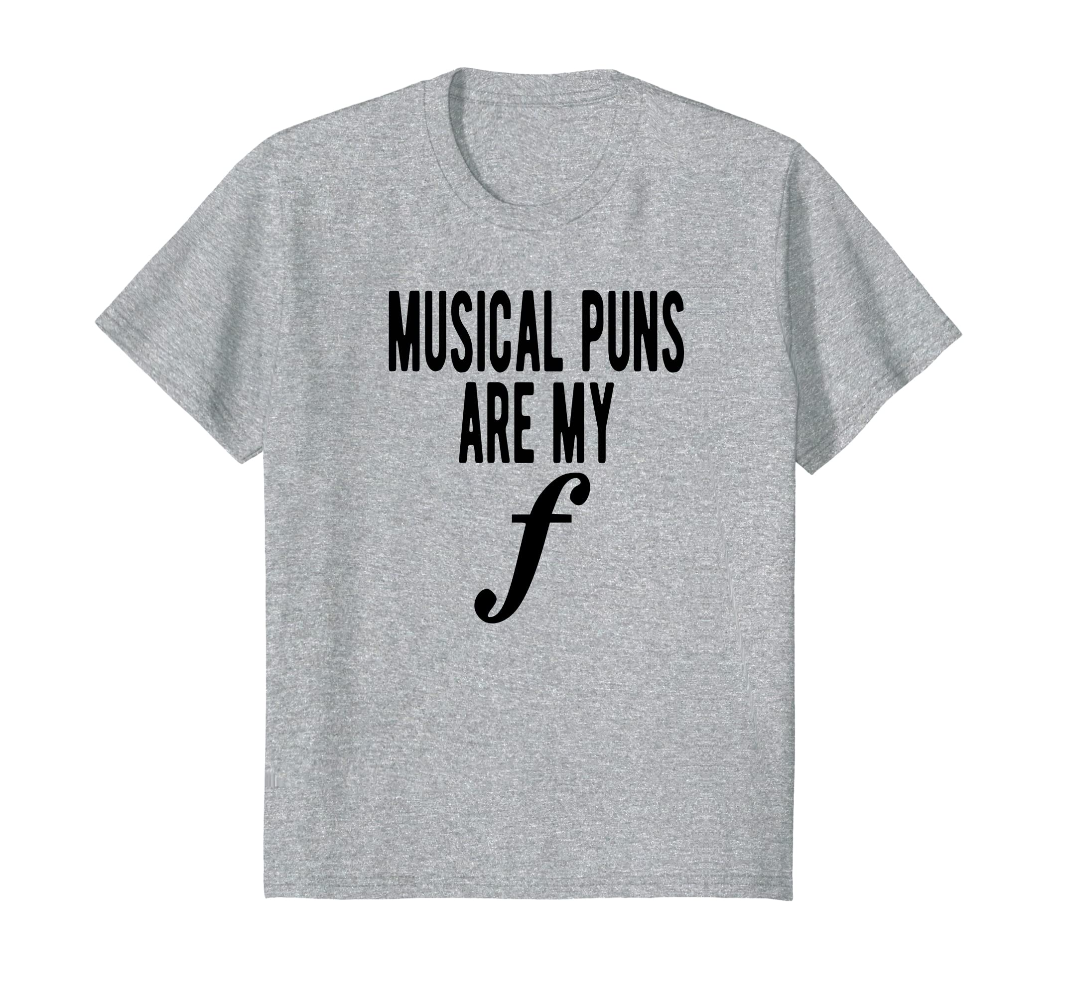 e5b458681 Amazon.com: Musical Puns Are My Forte Band Instrument Fun Music T-Shirt:  Clothing