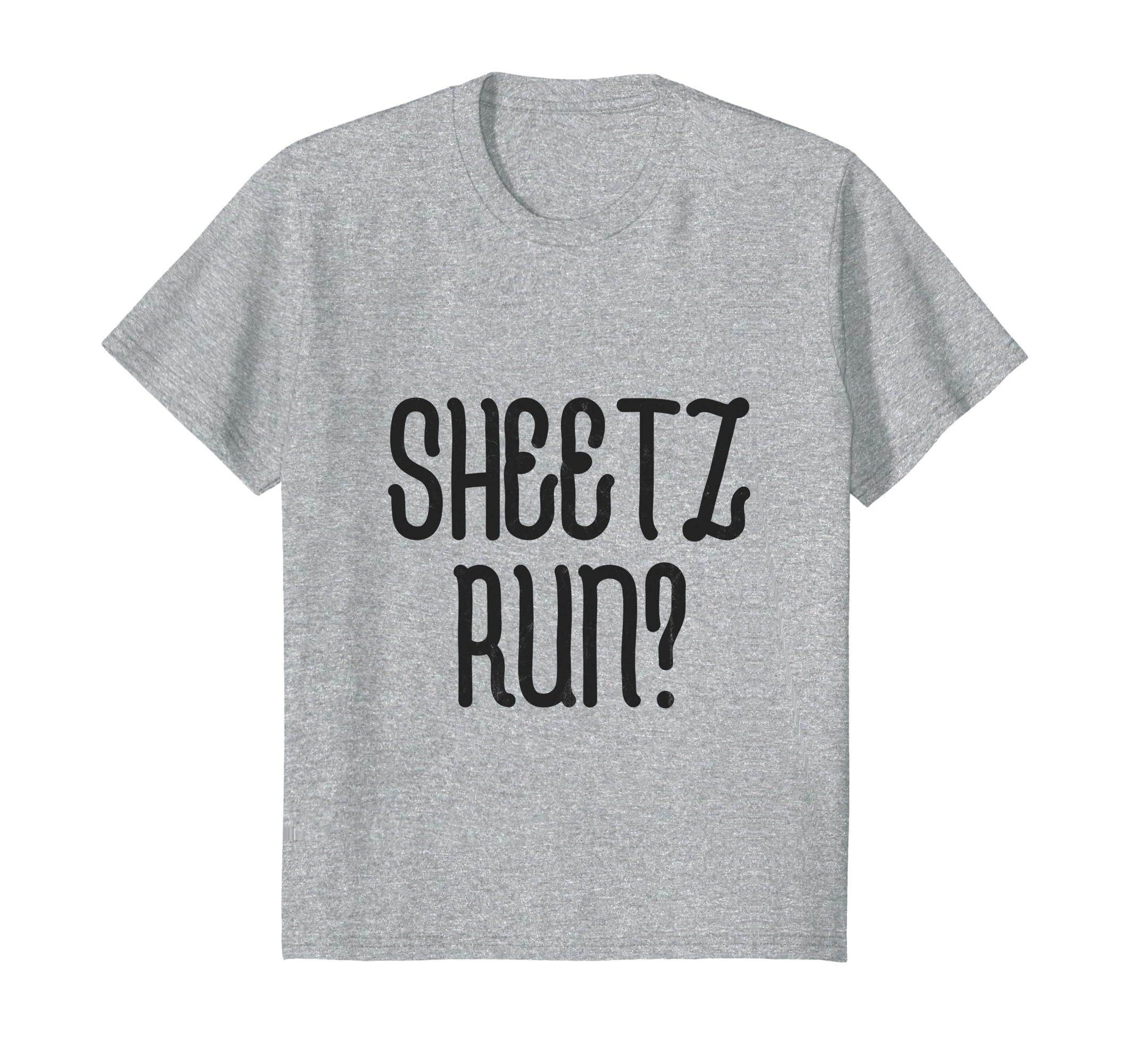 Amazon.com: Sheetz Run Funny PA Meme Tshirt: Clothing