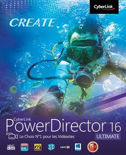 CyberLink PowerDirector 16 Ultimate [Téléchargement]