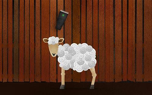 Farm /& Ranch K/üchenzubeh/ör Kr/äuterschere aus Edelstahl mit 5 Klingen zum Sch/ärfen Gr/ün