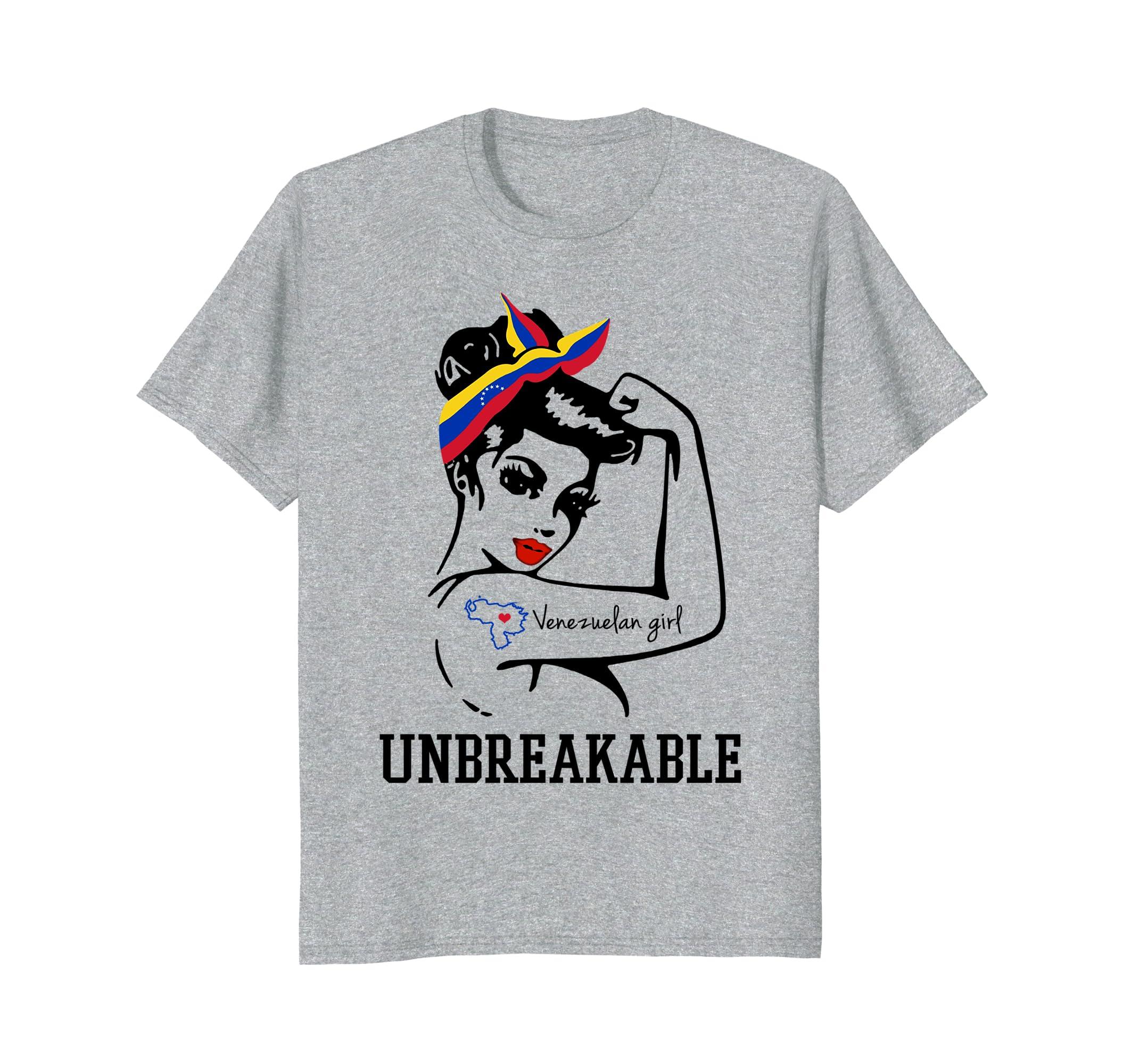 Venezuelan Girl Unbreakable   Great t shirt-Teesml