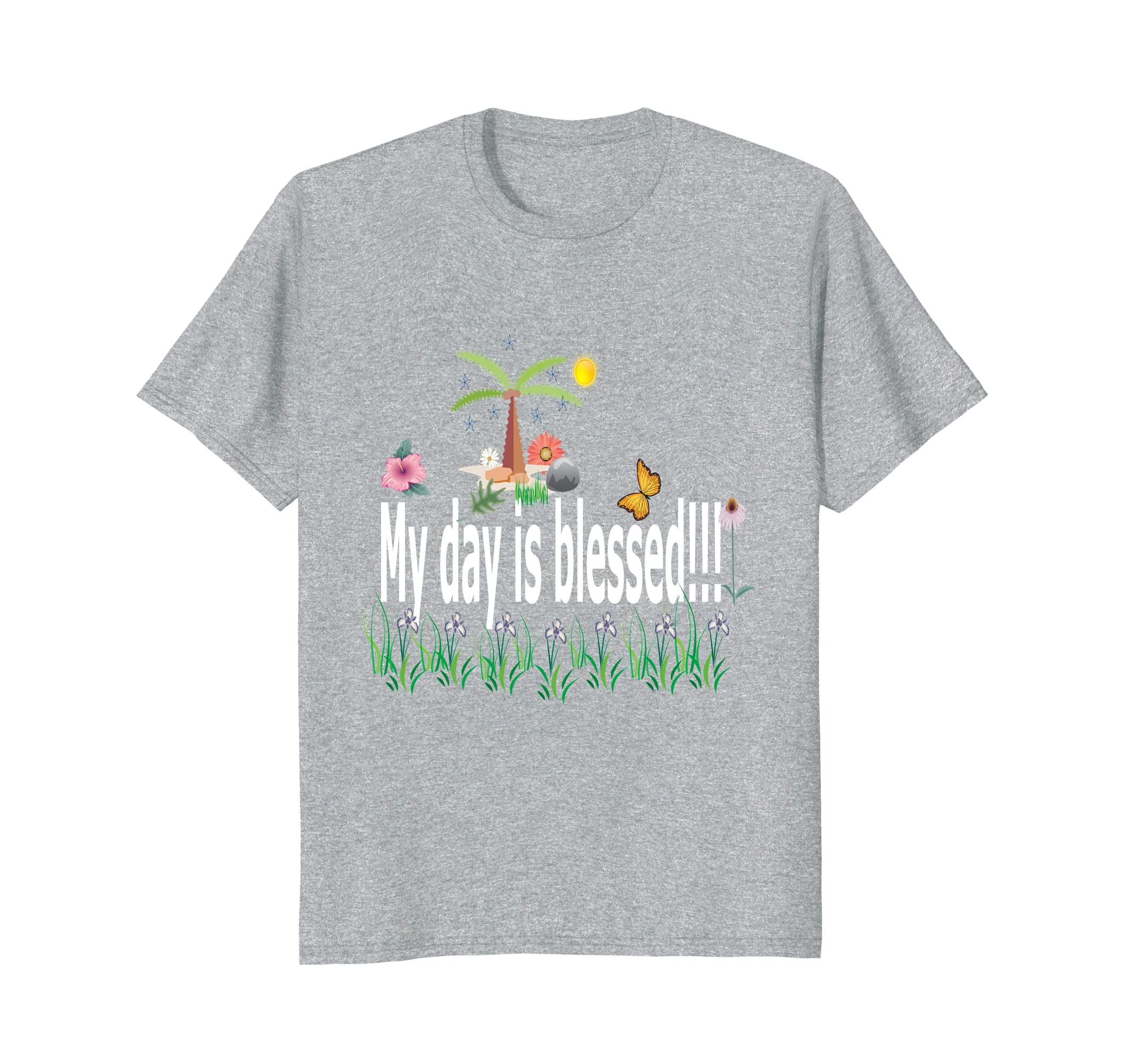 c5cd70555 Yes God tshirt: my day is blessed, men, women, youth T.shirt- TPT ...