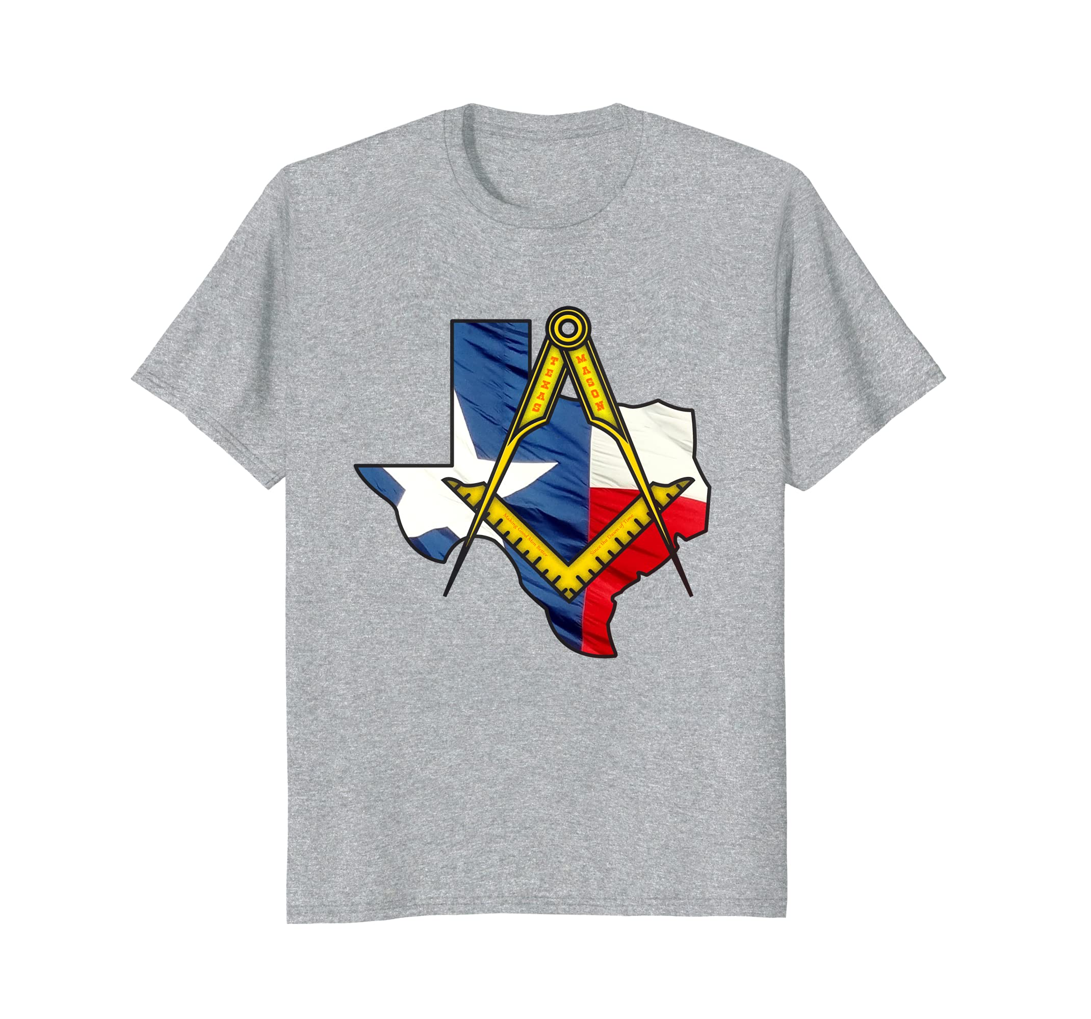 ef62ec85 Mens Texas Freemason Masonic Lodge T-Shirt-prm – Paramatee