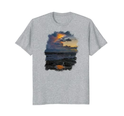 Yachats Sunset Standard T-Shirt