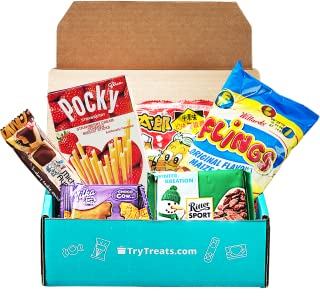 Try Treats - International Snack Subscription Box: Standard Box Subscription