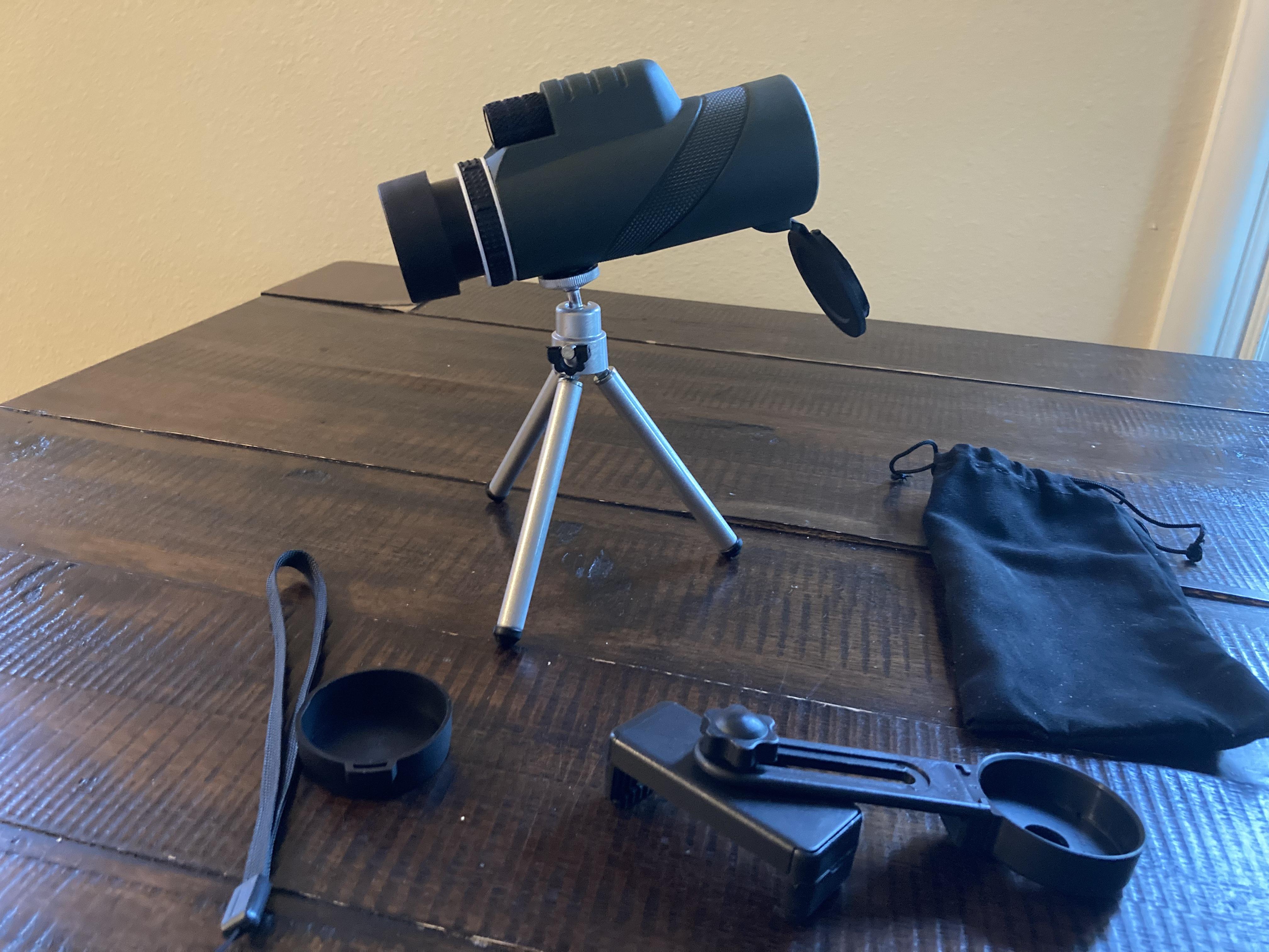 Professional Mobile Monocular Telescope photo review