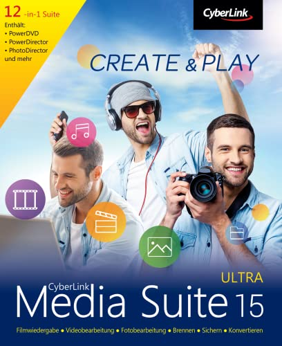 CyberLinl Media Suite 15 Ultra [Download]
