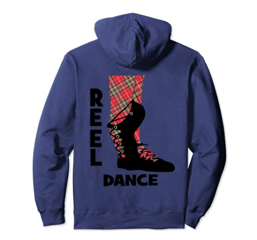 Scottish Country Dancing Shoes Reel Dance Pullover Hoodie