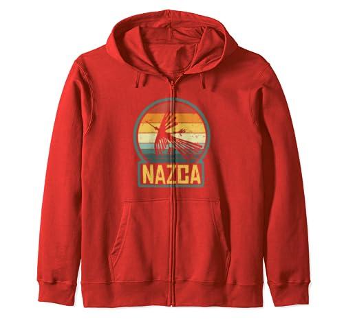Amazon.com: Nazca Lines Condor Bird Alien UFO - Sudadera con ...
