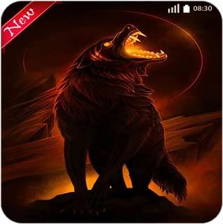 Fire Wolf Wallpaper 4K - New Images Locker Phone