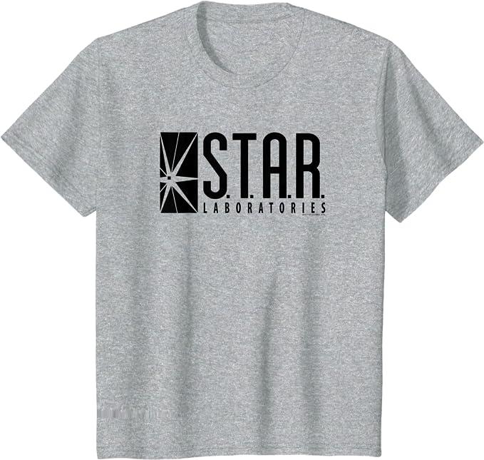Flash Star Labs Kids T-Shirt Black