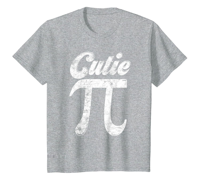 Kids Cutie Pi TShirt Math Pun T Shirt Pi Day Tee Gift Girls Boys-Awarplus
