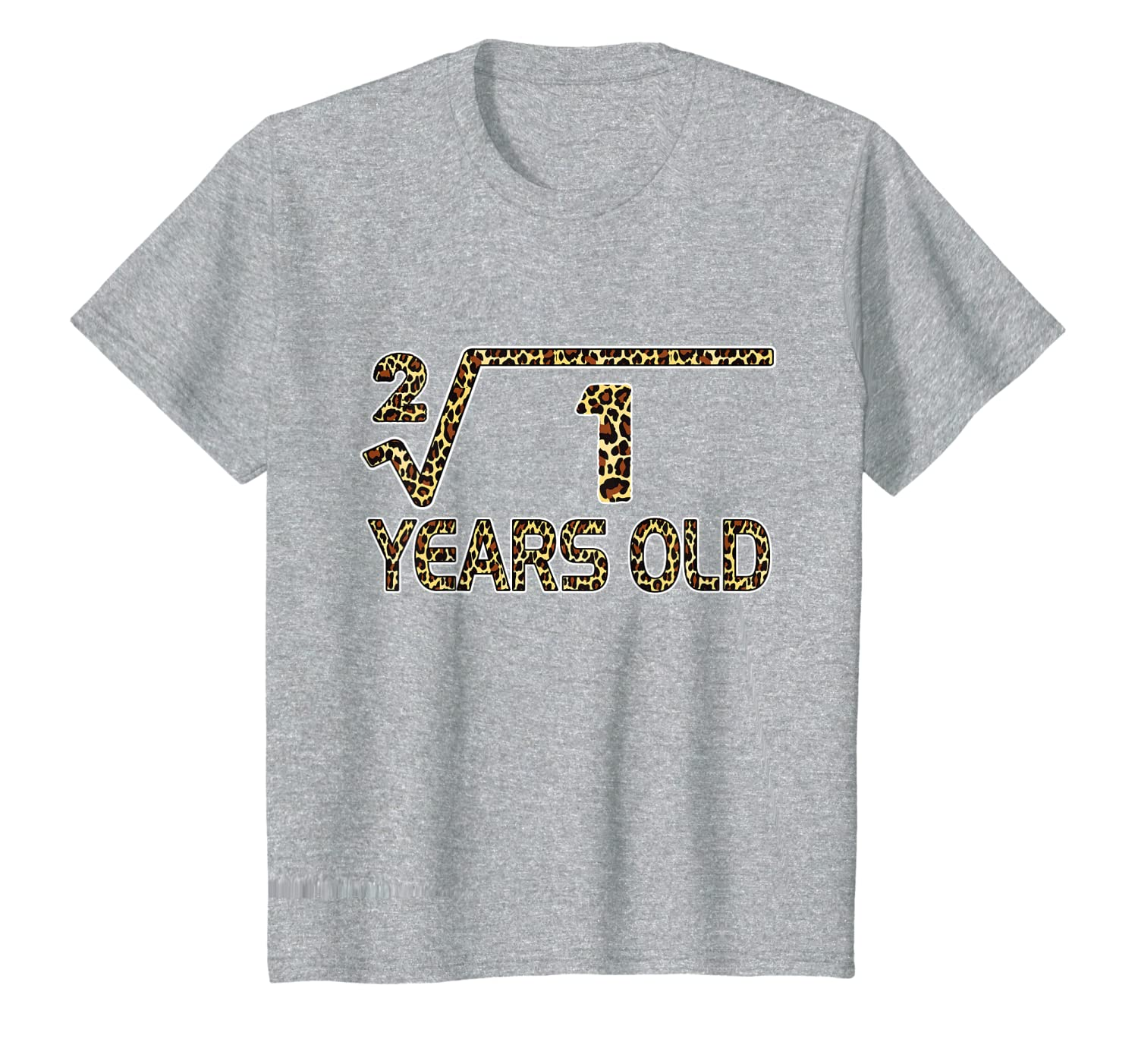 Kids Square Root of 1 1st Birthday New Born Baby Girl Boy Outfit T-Shirt