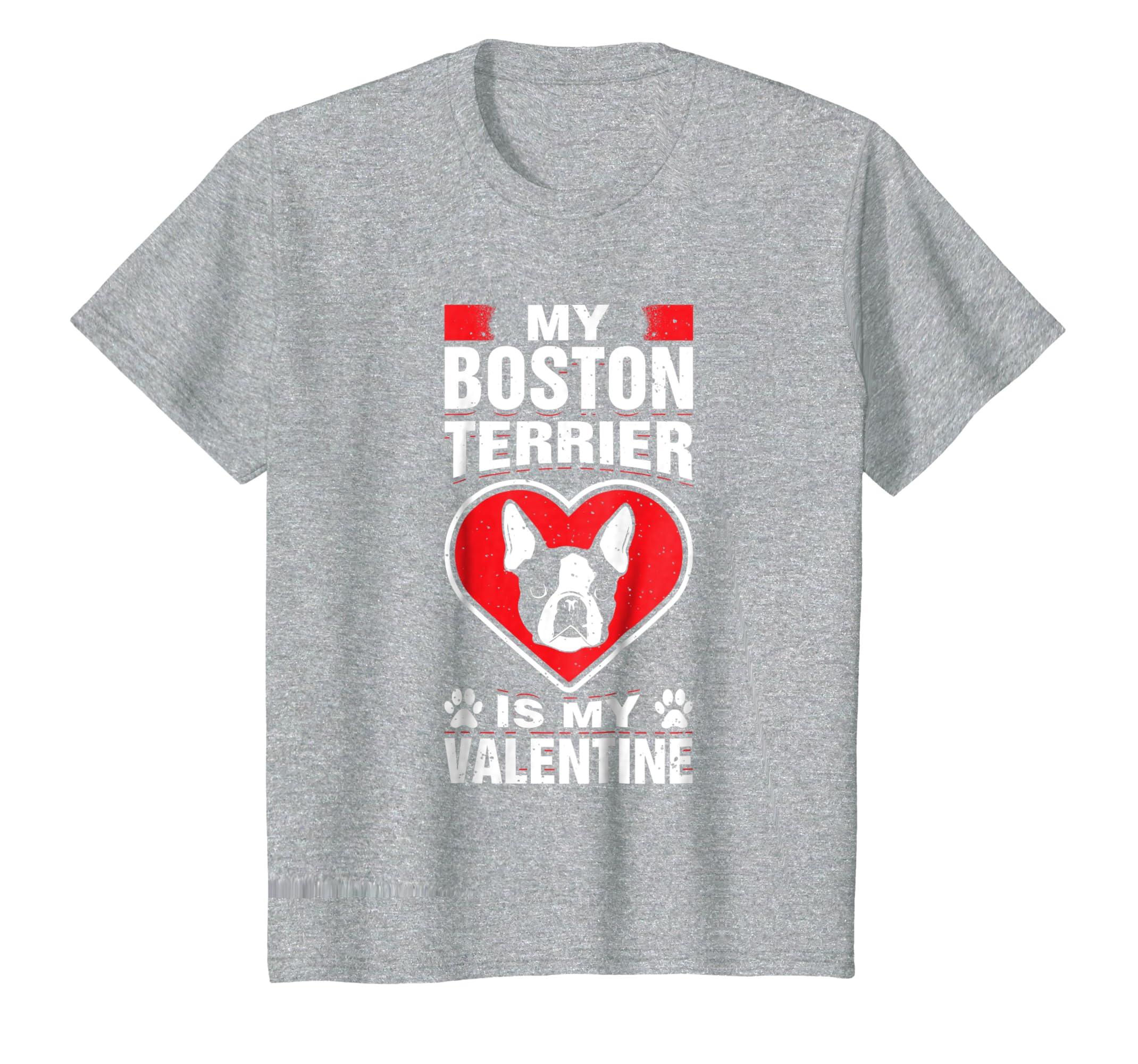 Amazon com: My Boston Terrier Is My Valentine Romantic Day