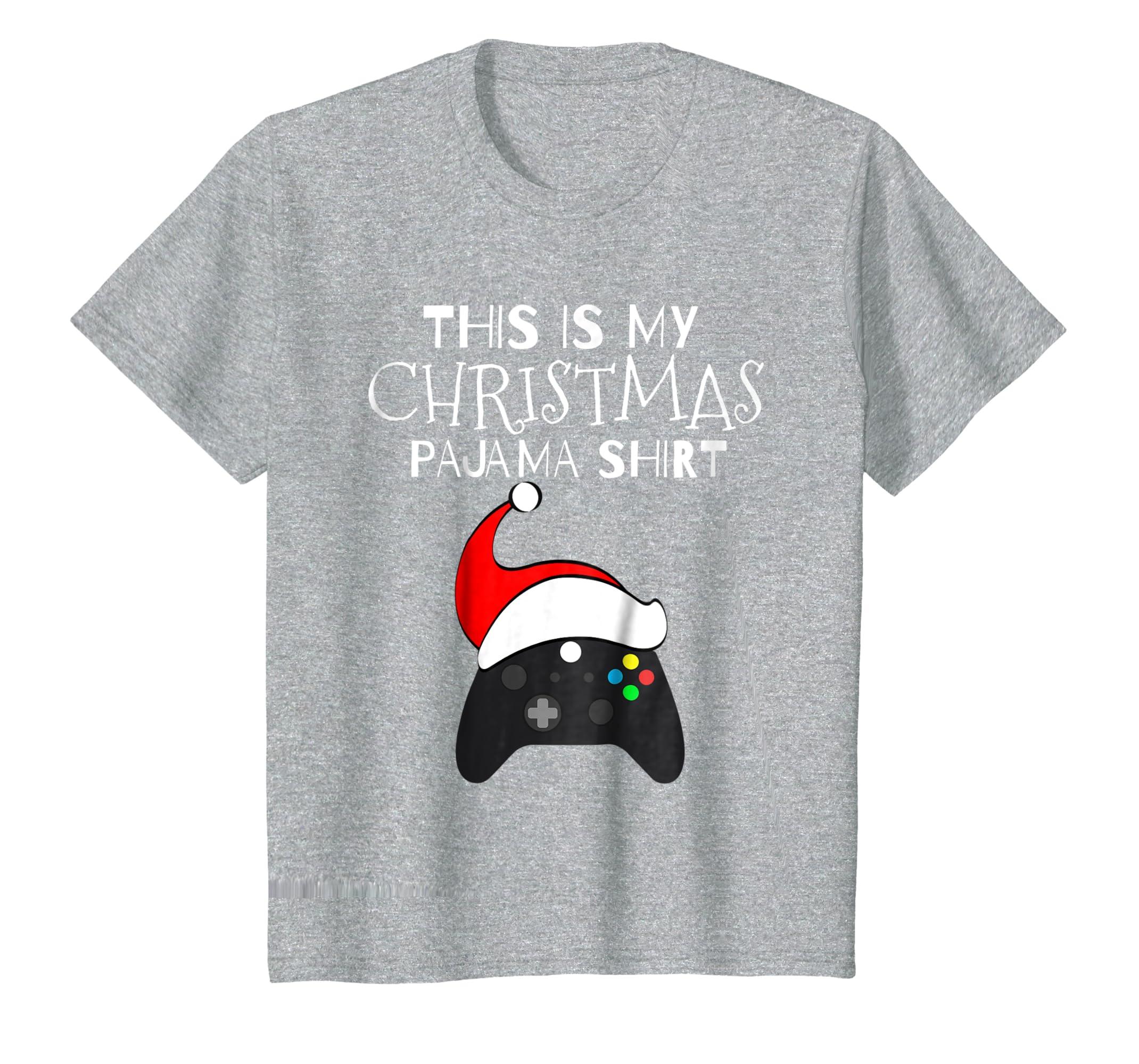 a87c933bd Amazon.com: This Is My Christmas Pajama Shirt Funny Gamer Christmas Tee:  Clothing