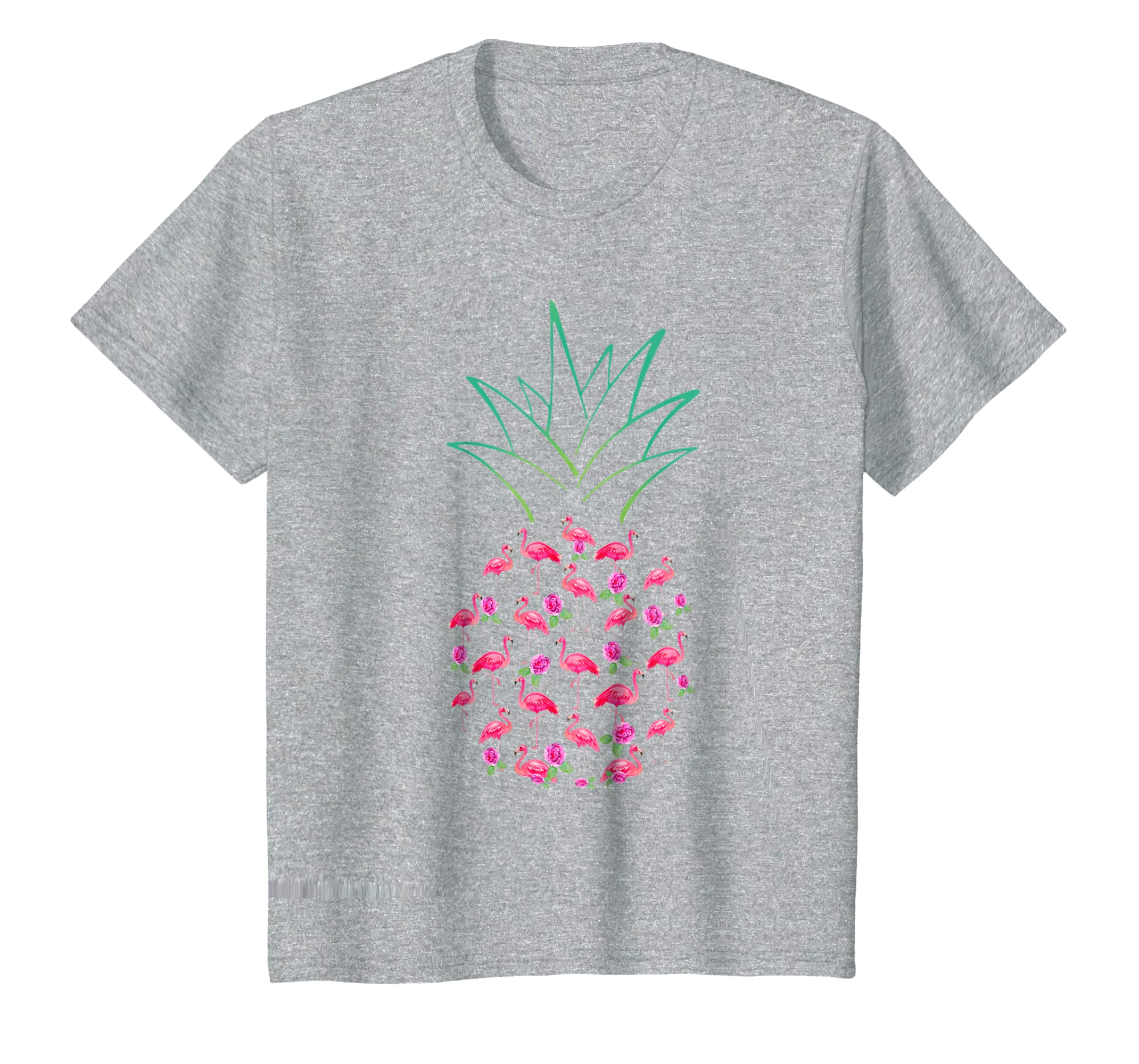 Flamingo Pink Pineapple Funny Unisex Flamingo Lover T Shirts