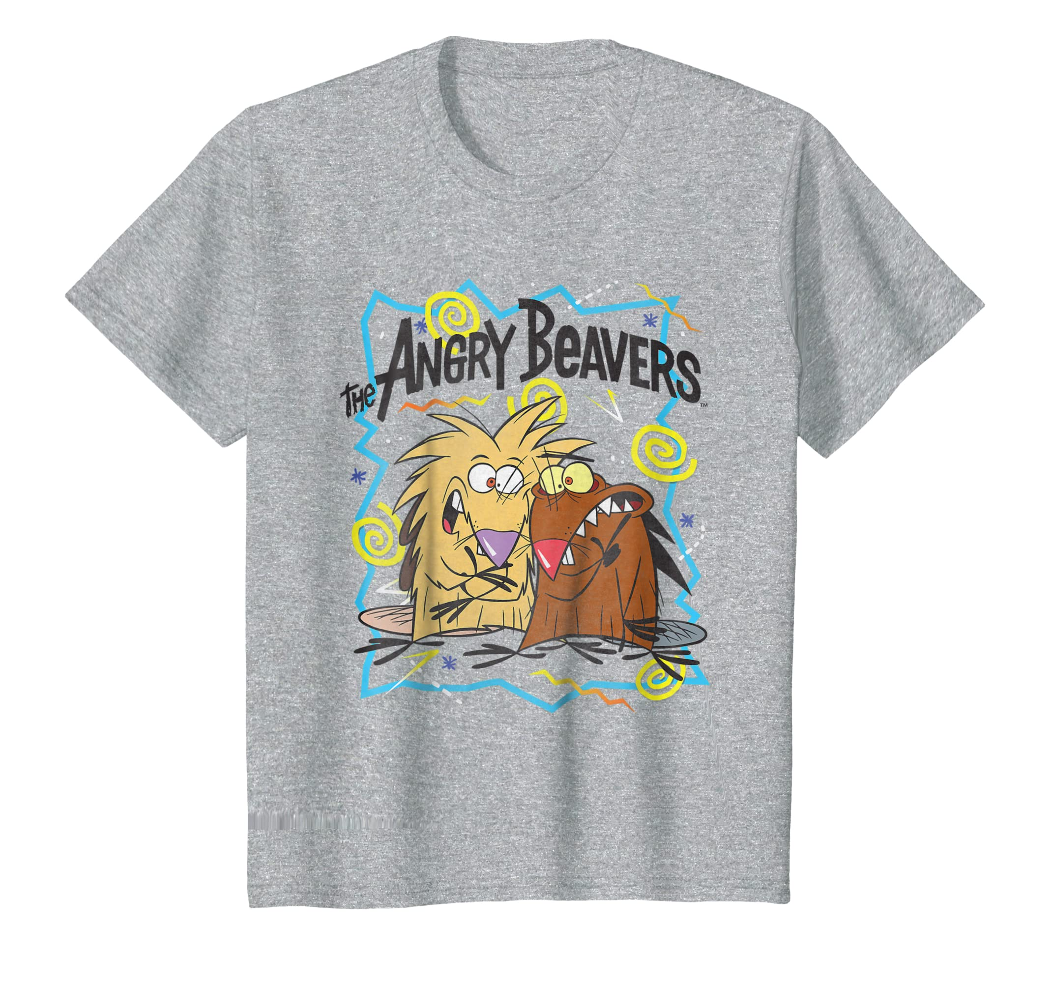 cc8c9c83f30 Amazon.com  Nickelodeon The Angry Beavers Insane Humorous T-Shirt  Clothing