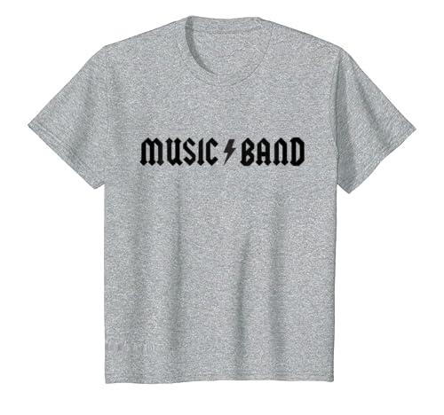 b2d5b4e4 Amazon.com: Music Band T-Shirt: Clothing