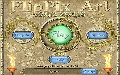 『FlipPix Art - Magic Worlds』の2枚目の画像