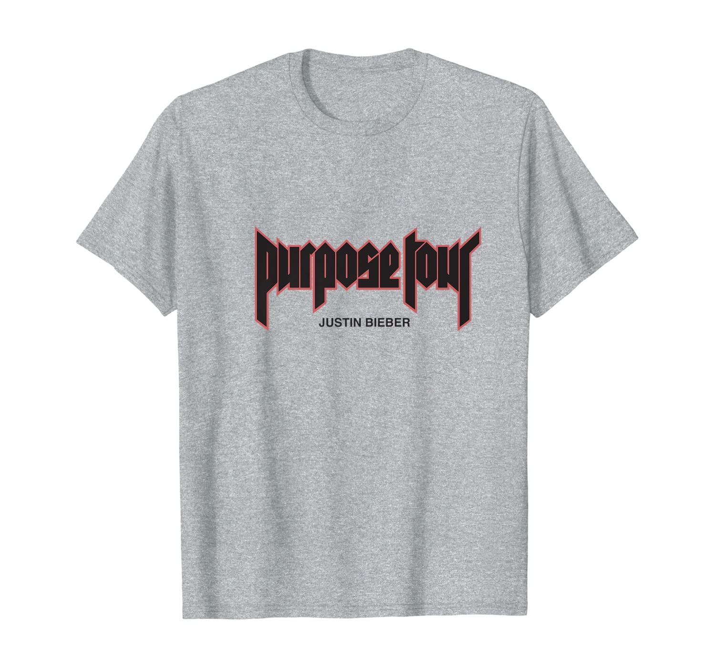 Herren Justin Bieber Purpose Tour Merch Filled T-Shirt