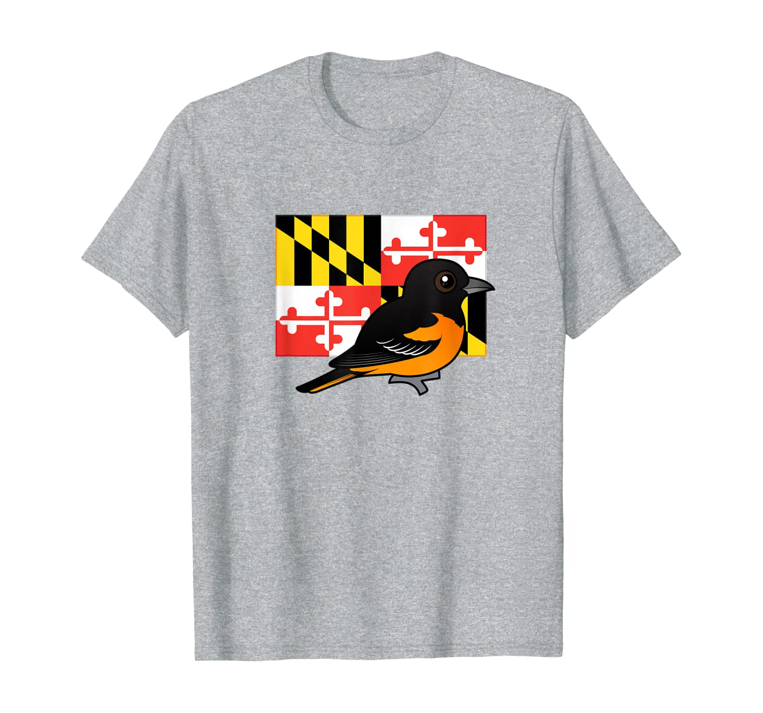 State Birdorable Of Maryland Cute Baltimore Oriole Shirts