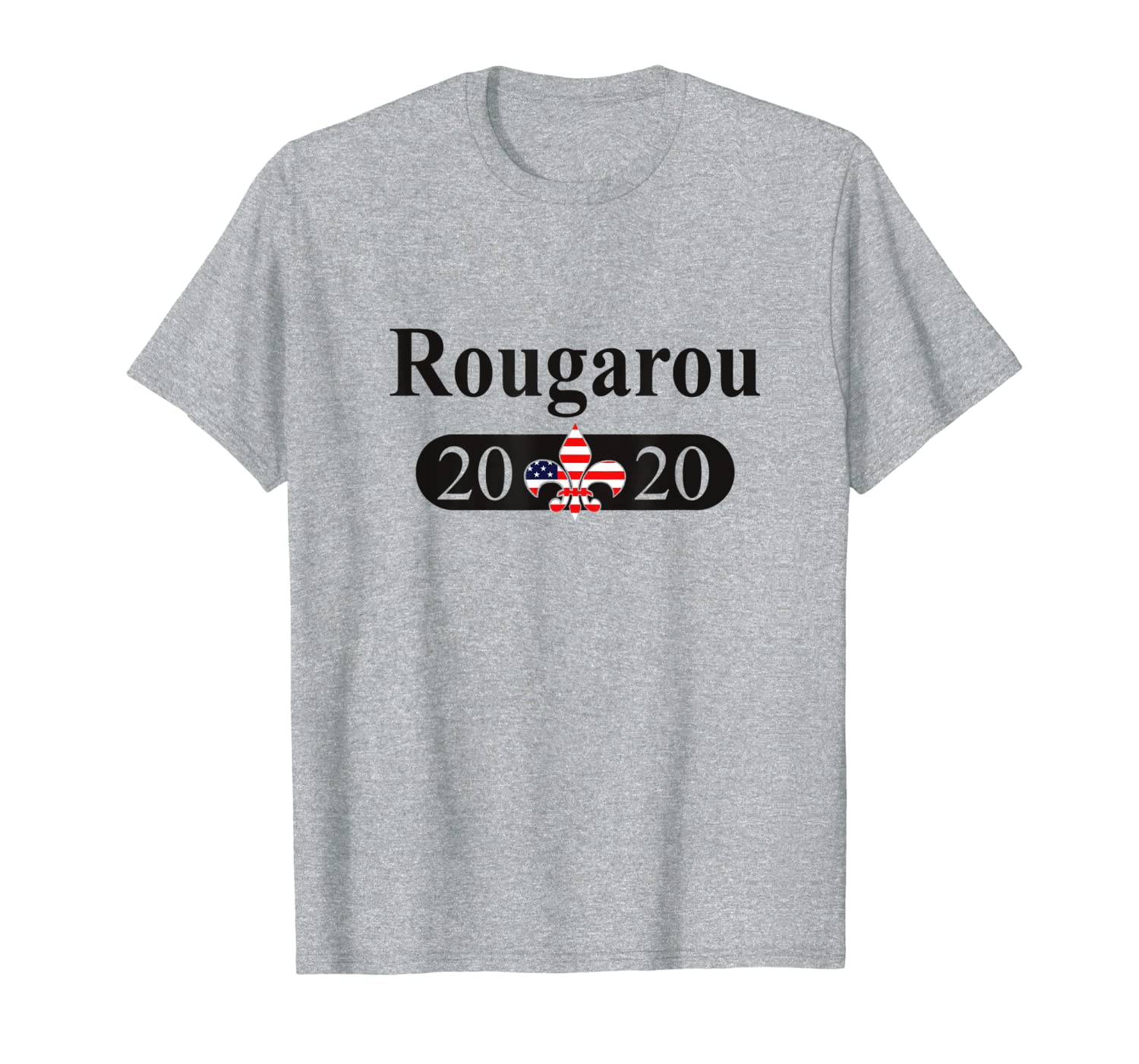 Rougarou Werewolf 2020 Funny Louisiana Political Humor T-Shirt-TH