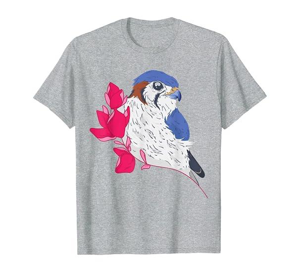 American Kestrel I Natural History Birder Birding Bird T-Shirt