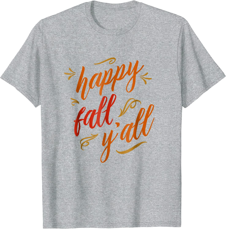 Fall Tshirt Thanksgiving Shirt Happiness Shirt Southern Shirt Thankful Tshirt Gift For Him, Fall Leaves T-shirt Hello fall T-shirt