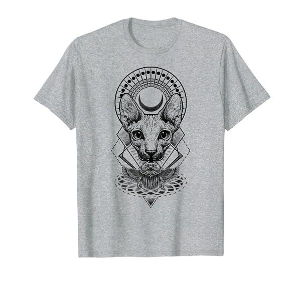 Bastet Egyptian Cat Goddess Mythology Gifts T-Shirt