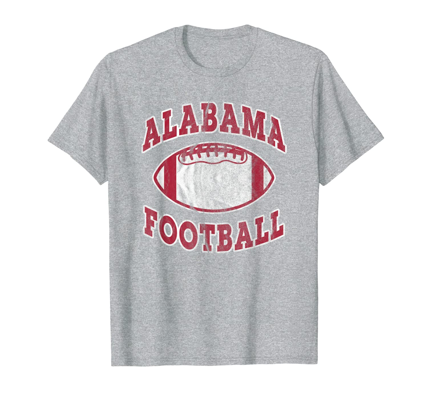 Alabama Football Vintage Distressed T-Shirt-TH