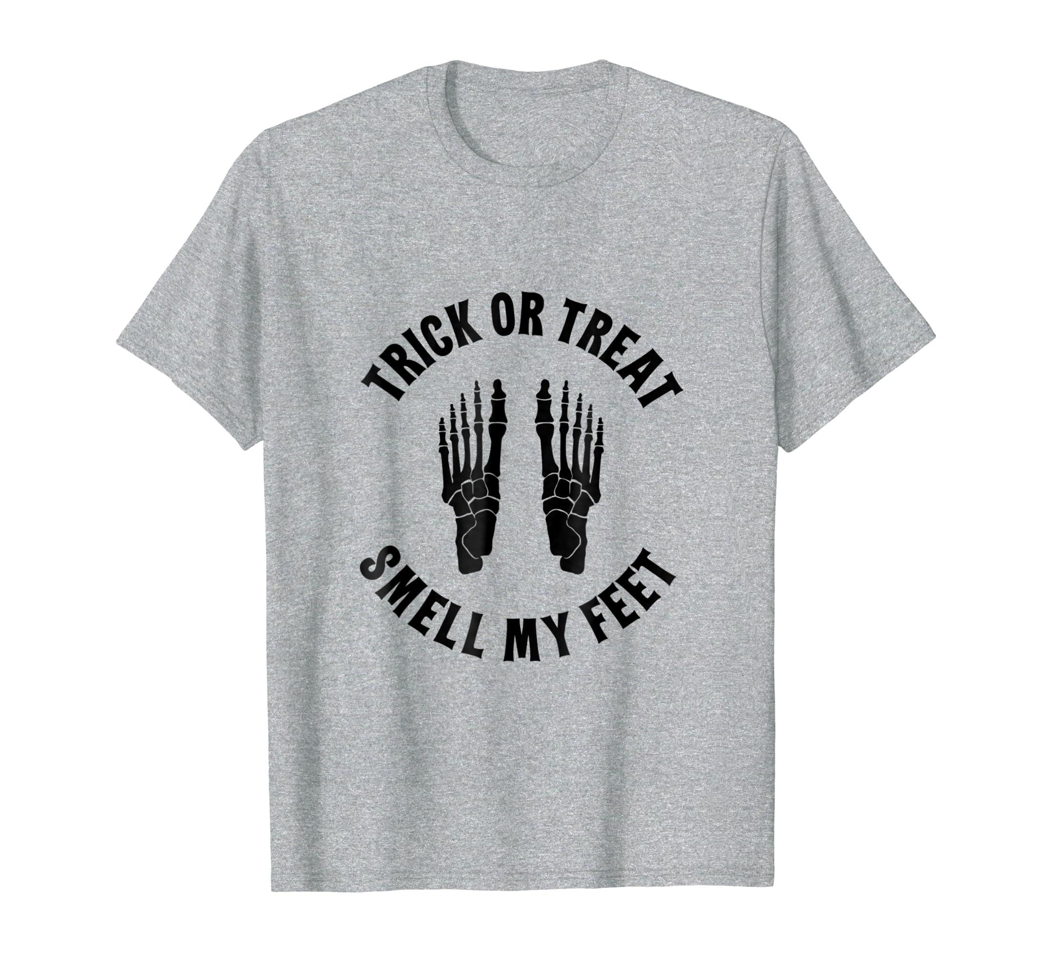Halloween Skeleton Shirt Trick or Treat Tee Men Women Kid-SFL