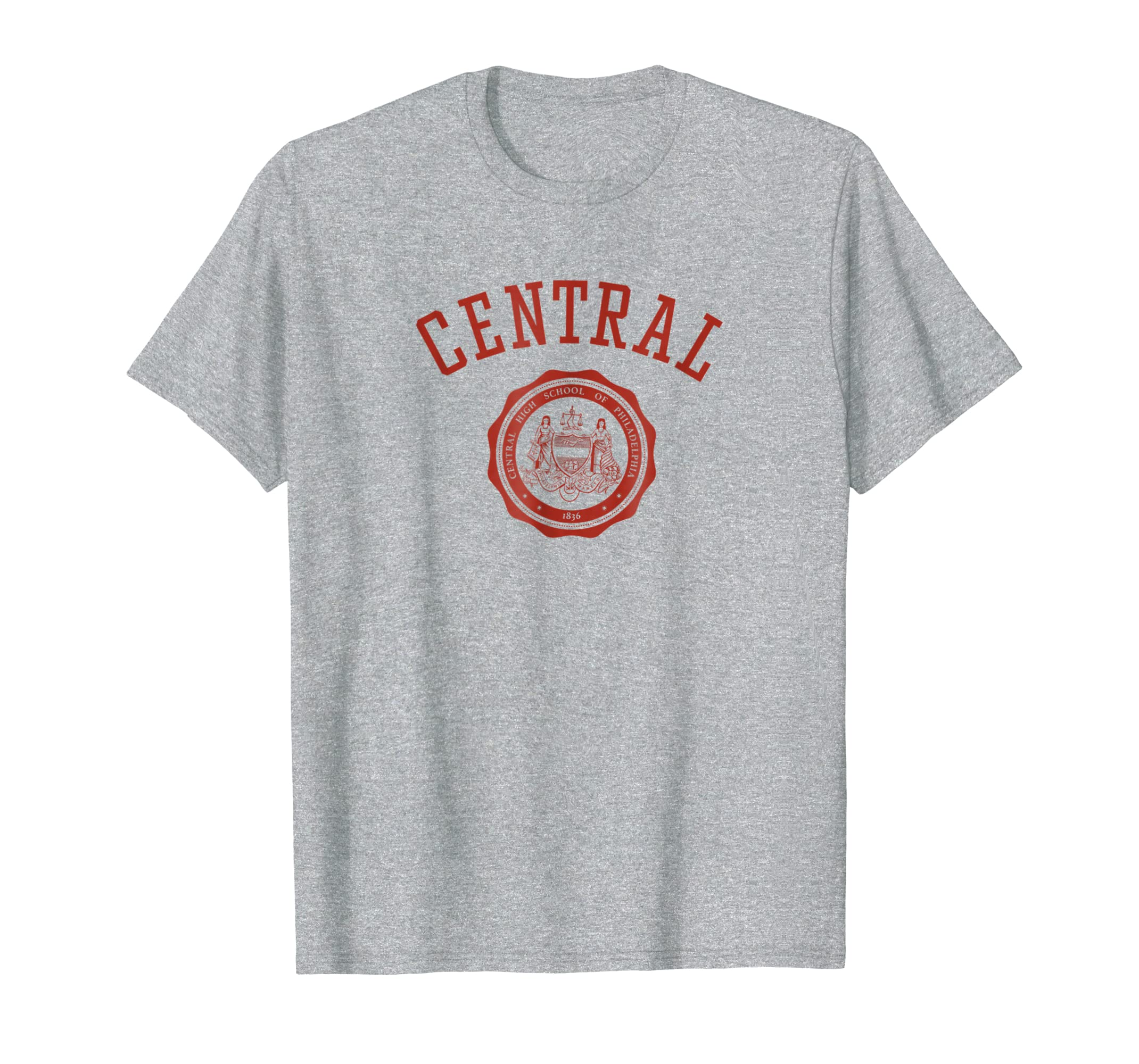 251! Classic Central High School T-Shirt-Rose