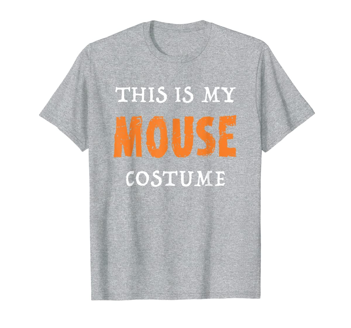 Funny This Is My Mouse Costume Halloween  T-Shirt-Men's T-Shirt-Sport Grey