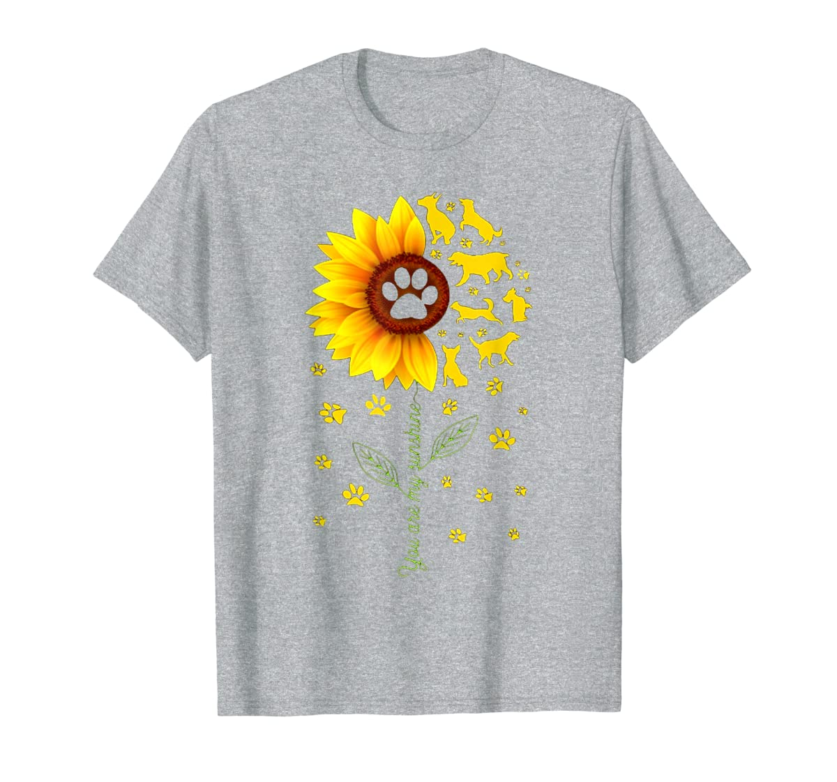 You are my Sunshine t-shirt-Men's T-Shirt-Sport Grey