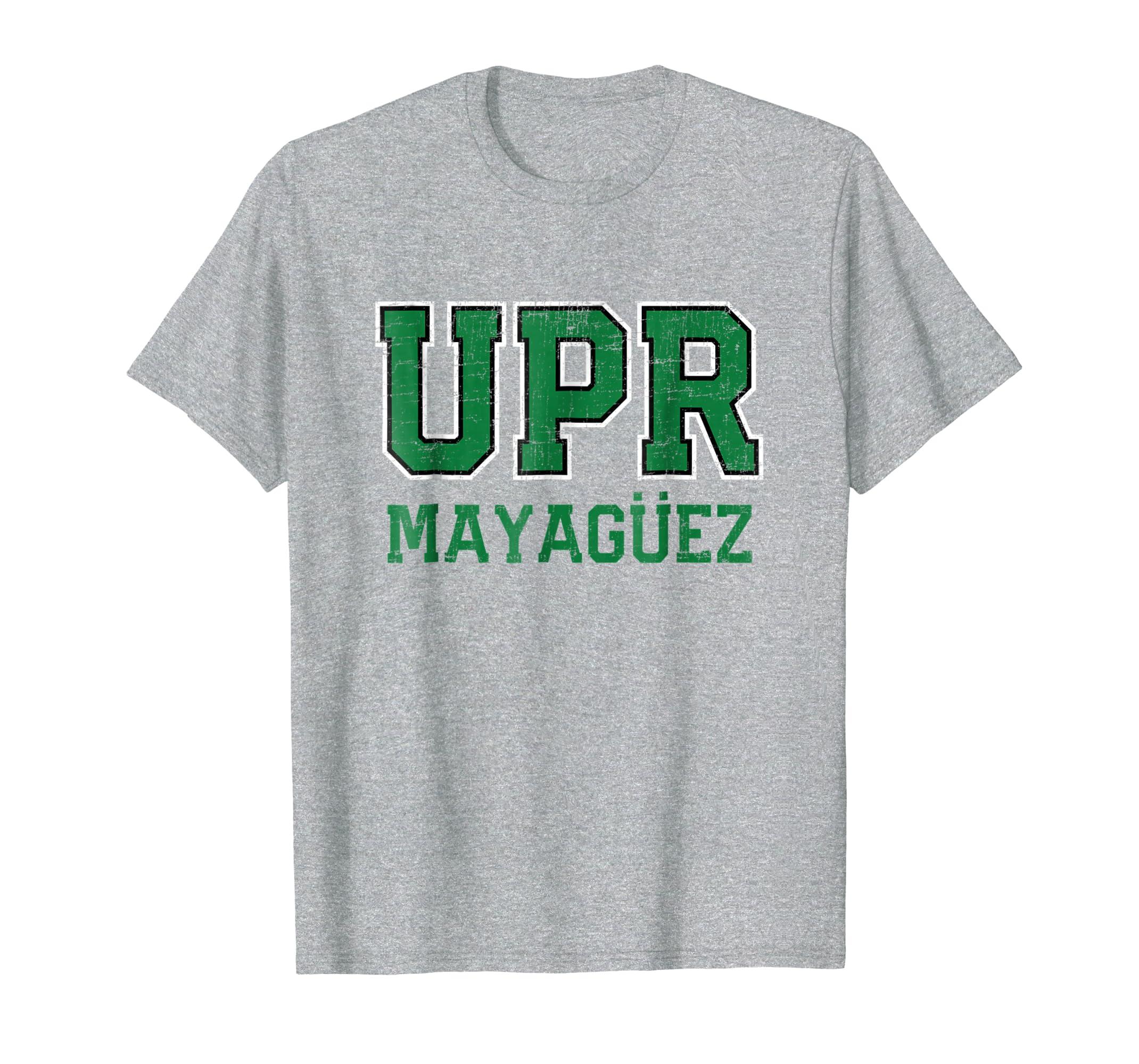 Amazon.com: Universidad de Puerto Rico Colegio Mayaguez UPR T-Shirt: Clothing