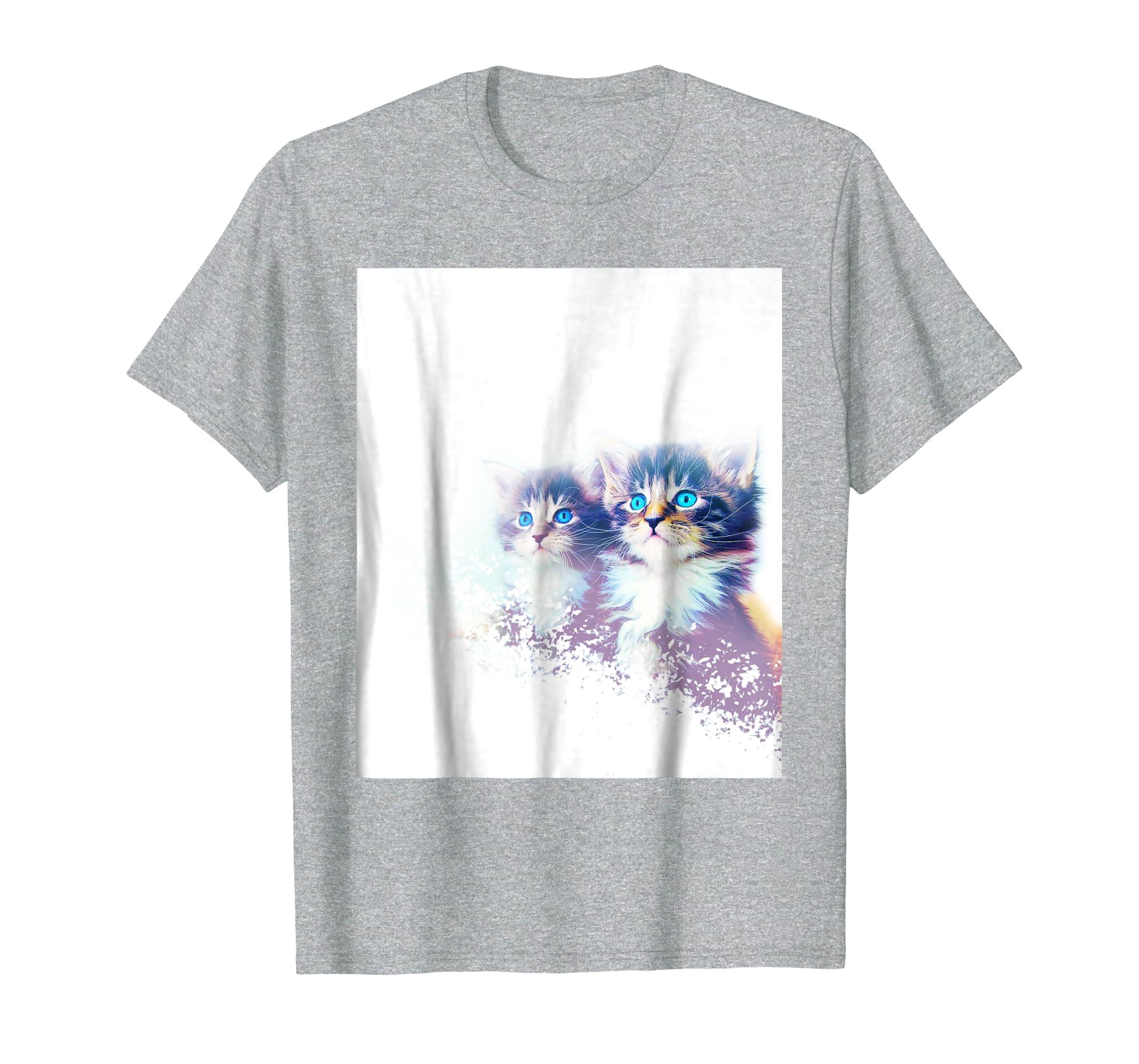 Unisex Cat lovers cute T shirt top
