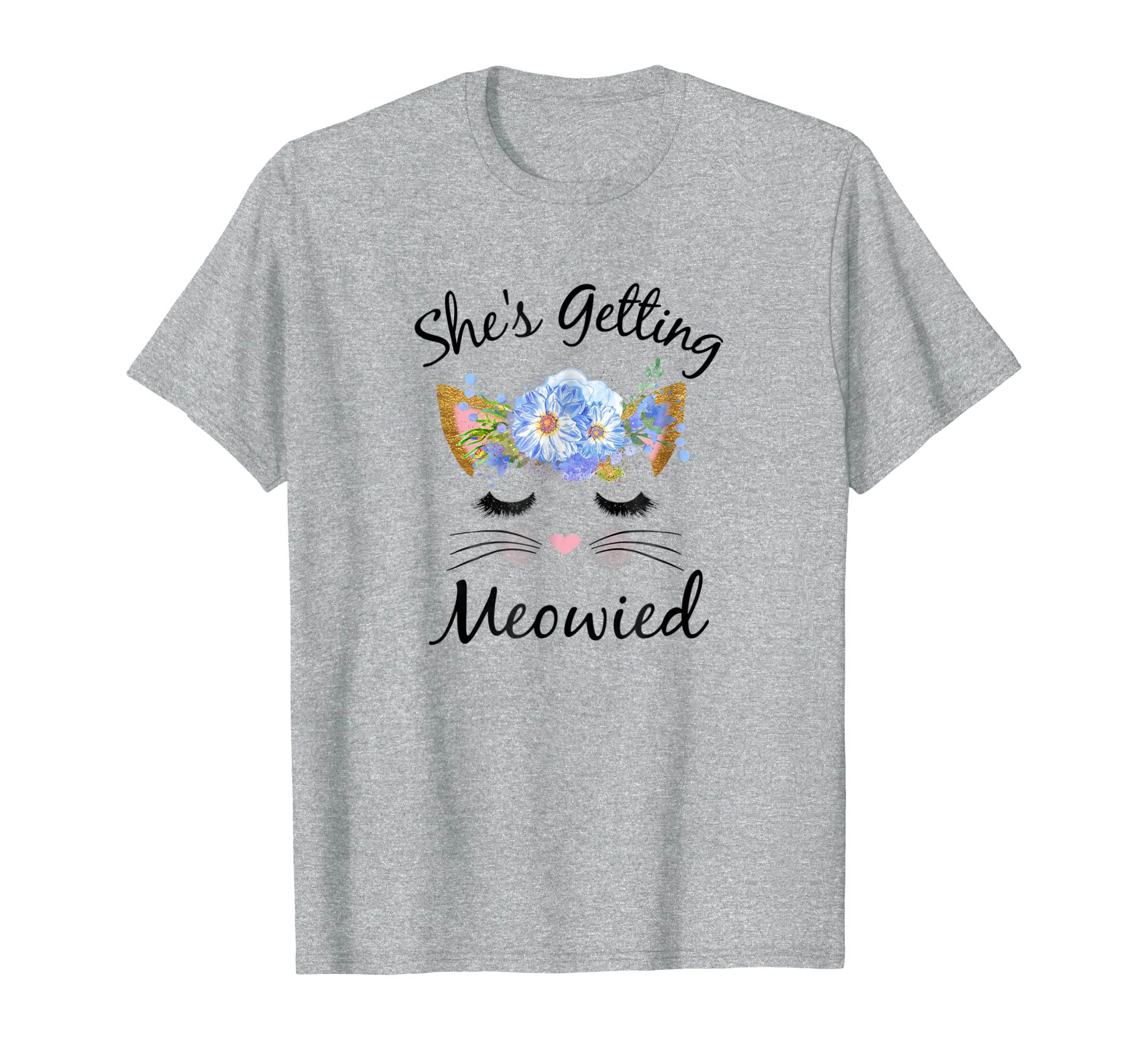 Beautiful She's Getting Meowied Shirt, Bachelorette Party-Awarplus