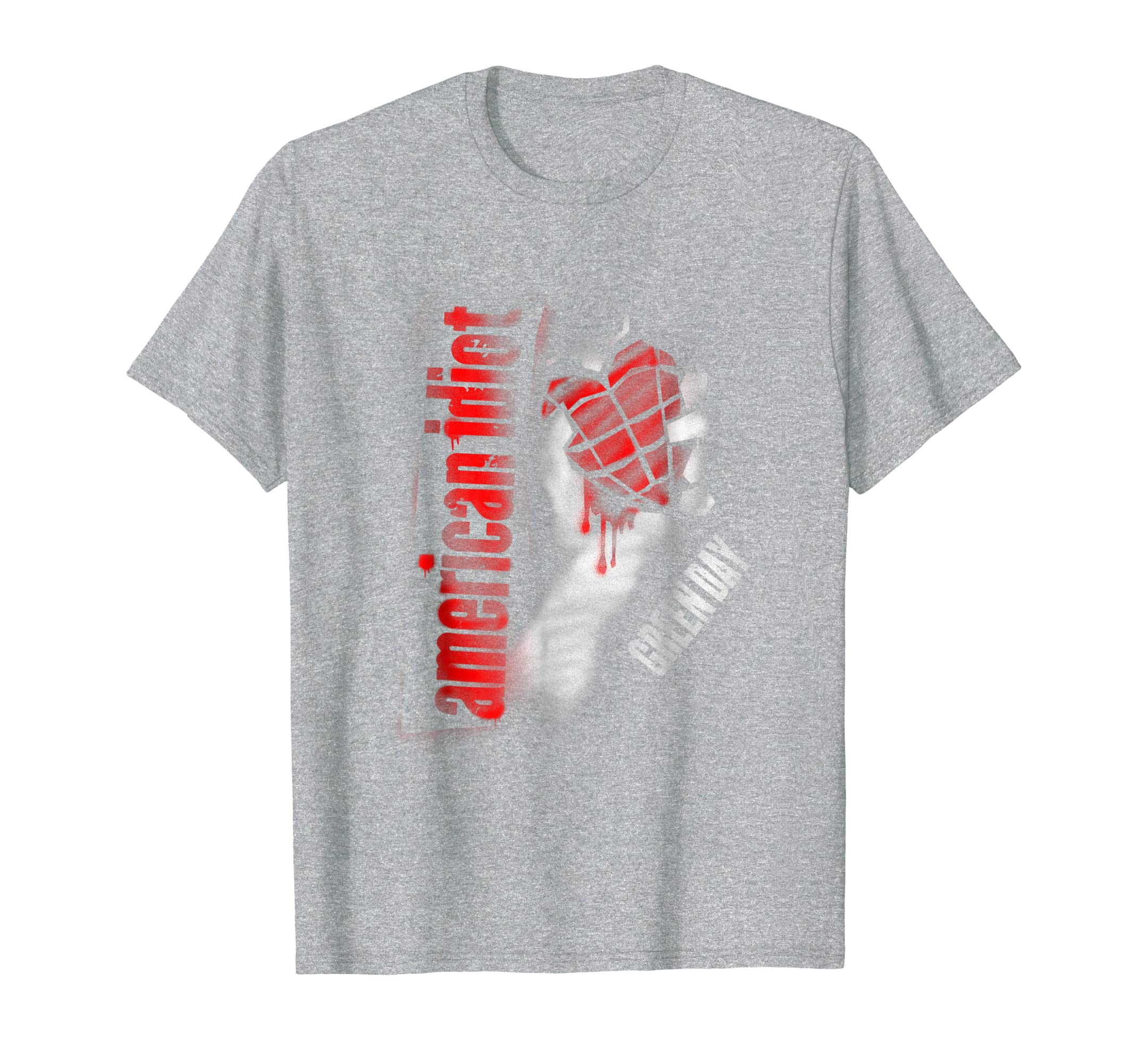 Mens Green Day: American Idiot Men's S/S T-Shirt-Yolotee